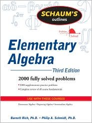 Schaum's Outline of Elementary Algebra 3th (third) edition Text Only pdf
