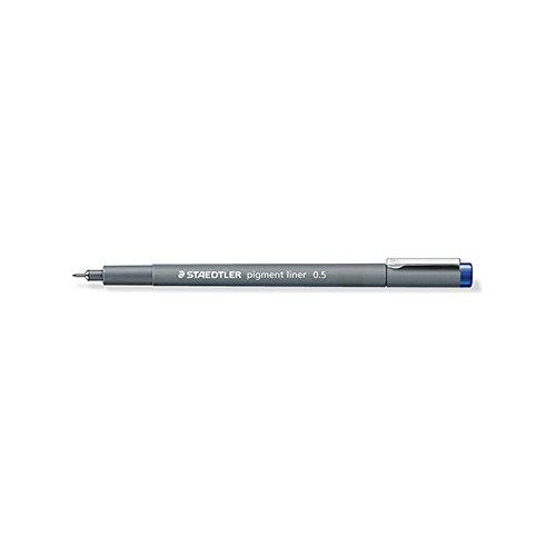 Penna feltro Staedtler Pigment Liner 308 punta calibrata 0, 5 mm blu 5mm blu STAEDLER