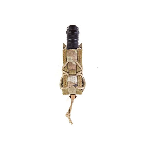 HSGI Belt Mount Pistol TACO Single Magazine MAG Pouch - MultiCam (Glock Flashlight Holder)