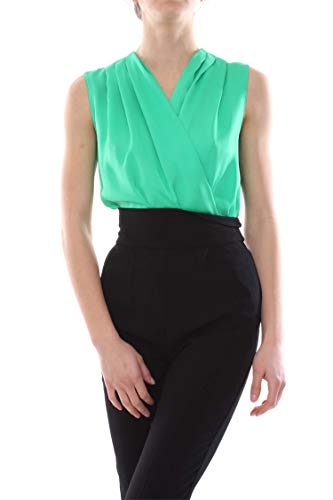 Donna Pinko Ines Verde E Body Top qCrwq