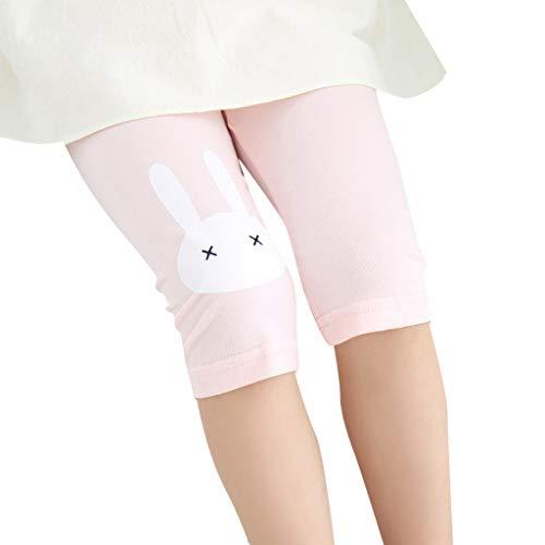 iZHH Children Costume Kid Baby Girl Knee Length Cartoon Bunny Safety Pants Shorts Underwear Clothes -