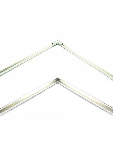 Nielsen Bainbridge Metal Frame Kit silver 30 in. | The Artisan Lounge