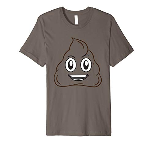 Pile Of Poop Halloween Costume (Funny Pile Of Poop Halloween Smiling Poo Emojis Easy Costume Premium)