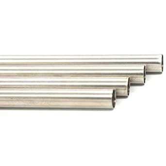 Tubo redondo de acero inoxidable 316L sin costuras, 2,5 cm ...
