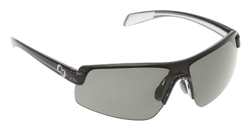 Native Lynx Polarized Sunglasses, Silver Reflex, Smoke / White