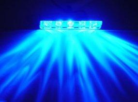 Logisys 5 Led Lazer Light Kit Blue in US - 1