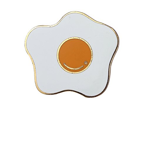 Last Valentine Fried Egg Enamel Pin Lapel Pin
