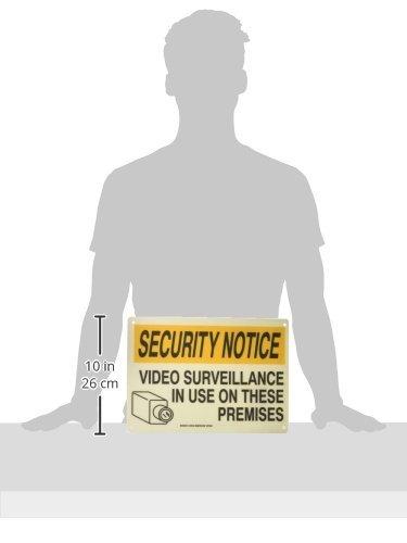 Brady 122749 Security Notice 10 Height x 14 Width