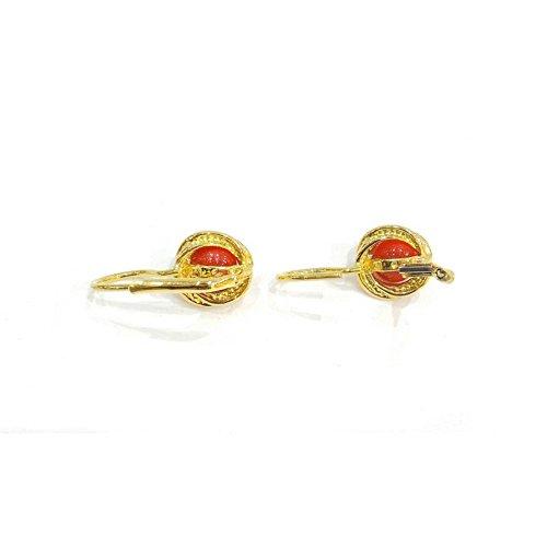 Boucles d'oreille Femme-oroo8or jaune