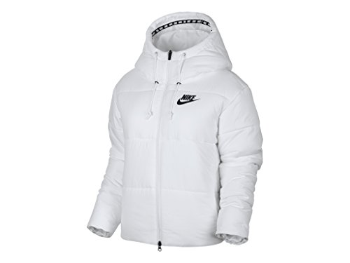 Nike Women's Thermal Insulated Jacket White/Black (XSmall)