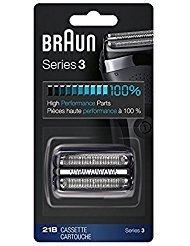 Braun Series 3 Shaver Cassette Black 21B ()
