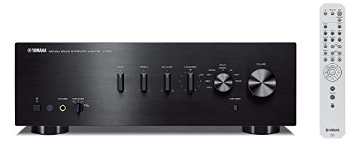 Yamaha A-S501BL Natural Sound Integrated Stereo Amplifier - Black (Renewed)