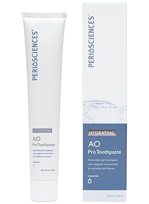 Hydrating Mint Toothpaste - PerioSciences AO ProToothpaste • HYDRATING - Mint - 3 oz