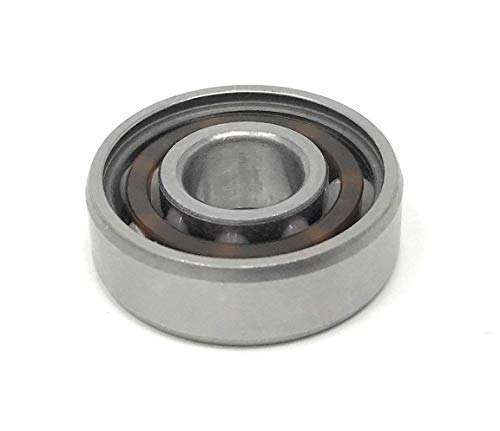 Highspeed Hybrid Keramik Speed Kugellager 608 8x22x7mm mit Polyamid K/äfig zentral f/ür Fidget Spinner