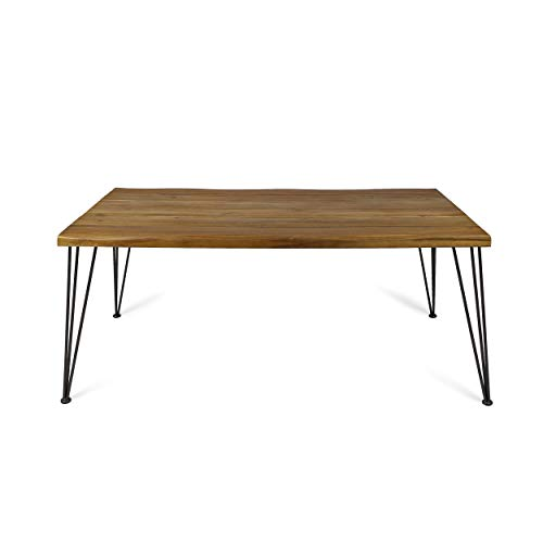 Christopher Knight Home Kama Indoor Dining Table, Rectangular, 72