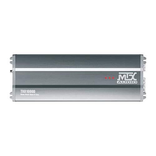 MTX TX81000D Amplificateur 12V Bloc Mono Classe-D 1x1000W RMS en Aluminium