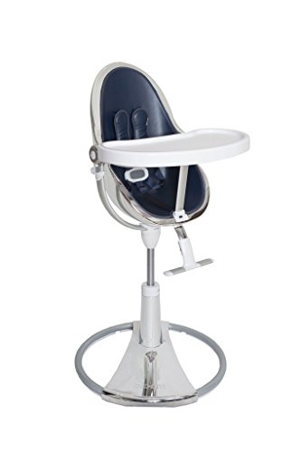 Bloom Fresco Chrome Starter Kit / Seatpads for Bloom Fresco Chrome Contemporary Baby HighChair - Navy Blue (New Collection) by BLOOM (Image #3)