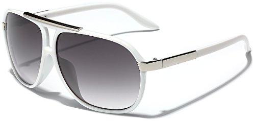 Classic 80s Fashion Aviator Sunglasses Retro Vintage Men's Women's ()