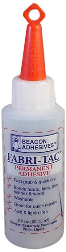 Fabri-Tac 59 ml Bouteille moyenne, transparente Beacon FT2OZBOT