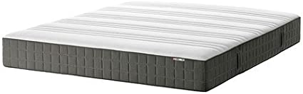 Ikea &apos hovag – Pocket Salto Mattress Medium Firm Dark Grey – 4 ...