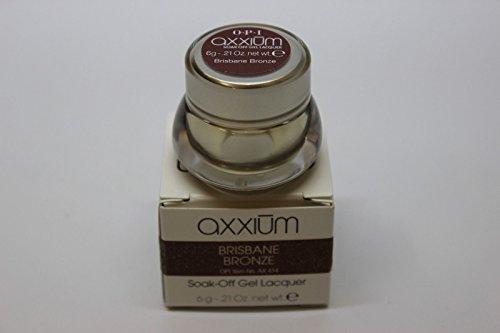 Axxium Soak-Off Gel Lacquer – Brisbane Bronze .21oz - each - Brand New by Soak-Off Gel Lacquer