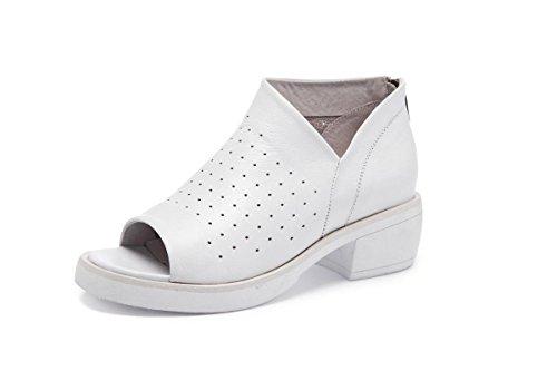 NVXIE Femmes Dames Nouveautés Chaussures Chaussures de Loisirs Chaussures à Bas Prix Chaussures de Poitrine Bouche Superficielle Pompes à Cuir Véritable Fête de l'automne Fête Travail 3-EUR39UK665 IZG6Ks3vJd