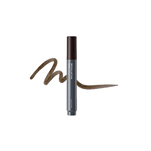 The Face Shop Browlasting Ink Pen 4.6g (03 Dark Brown)