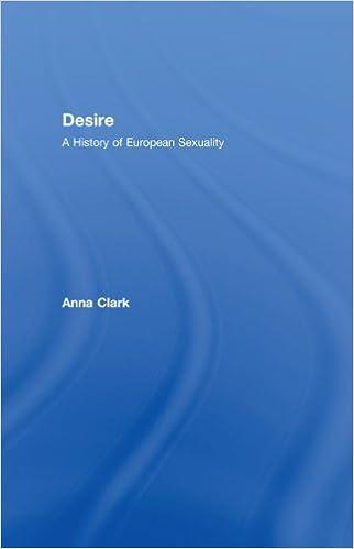 Amazon desire a history of european sexuality ebook anna amazon desire a history of european sexuality ebook anna clark kindle store fandeluxe Gallery