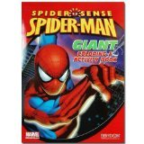 Spiderman 11x16 Giant Coloring & Activity Book, 16 pgs