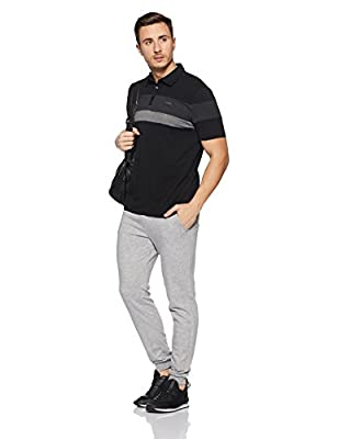 Calvin Klein Men's Liquid Touch Short Sleeve Polo Ottoman Tri Color Blocked