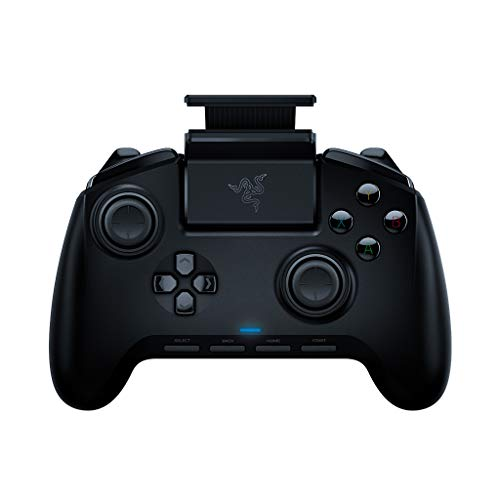 Razer Raiju Mobile: Ergonomic Multi-Function Button Layout - Hair Trigger Mode - Adjustable Phone Mount - Mobile Gaming Controller for Android