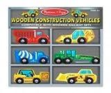 : Melissa & Doug Wooden Construction Vehicles