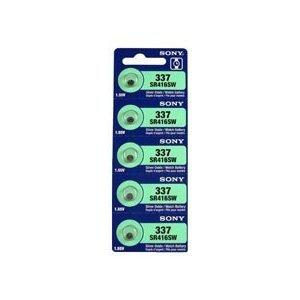 sony-337-sr416sw-155v-silver-oxide-0hg-mercury-free-watch-battery-5-batteries