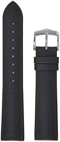 [ヒルシュ] HIRSCH 腕時計ベルト アルネ ARNE レザー×ラバー [並行輸入品] (18mm, ブラック/ブラウン)