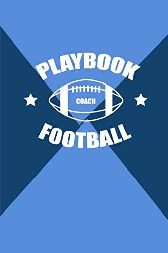 Playbook Coach Football: Journal Agenda with Calendar 2019 ...