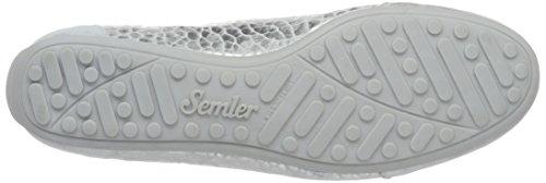 Semler N6106-831, Scarpe da Ginnastica Basse Donna Bianco (Weiss)