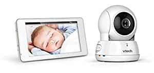 VTech VM9900 Hd Pan & Tilt Video Monitor With Remote Access, White