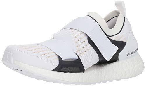 adidas by Stella McCartney Women's Ultraboost X Sneakers, White/Chalk White/Night Grey, 7.5 M US