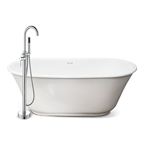 American Bath Factory CC-MT-C-SN Chelsea Collection Modern Tub Package