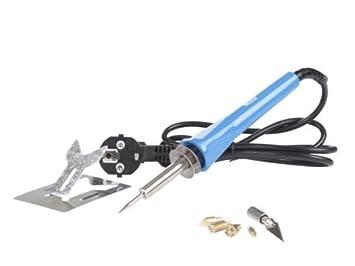 Velleman - Kit 3-en-1 de sistema de pirograbado con soldador (30 W): Amazon.es: Bricolaje y herramientas