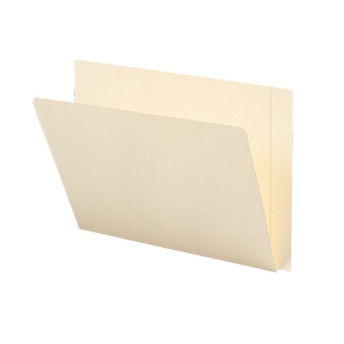 eight File Folder, Reinforced Straight-Cut Extended Tab, Letter Size, Ivory, 50 per Box (24507) ()