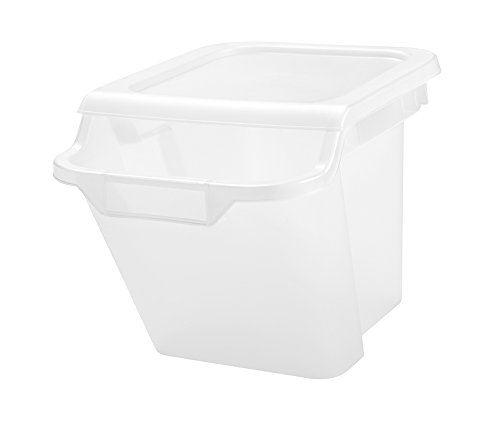 IRIS USA Lid Storage Box