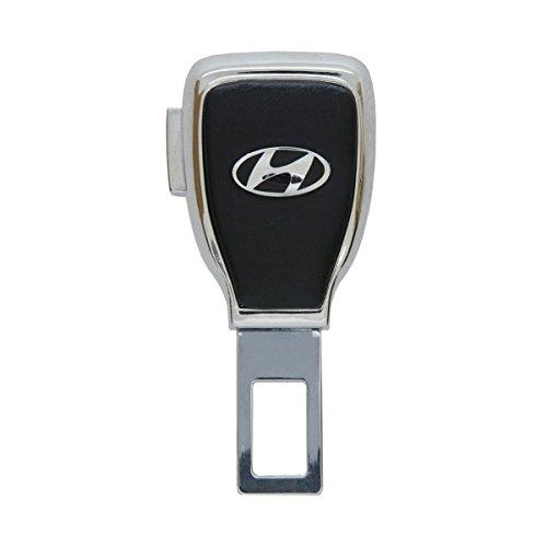Bearfire car Logo Safety Buckle Extension Extender Clasp Insert Plug Clip Car Seat Belt Card Personality Buckle (hyundai) (Seat Hyundai Belts)