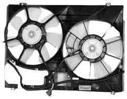 TYC 621600 Toyota Sienna Replacement Radiator/Condenser Cooling Fan Assembly 318kH2BZ2aIL