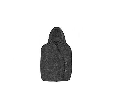 Maxi-Cosi Winter Footmuff for Baby Car Seats, Warm Footmuff Suitable From Birth, Nomad Black: MAXI-COSI: Baby