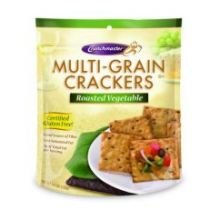 Crunchmaster Multi-grain Crackers - Roasted Vegetable - Case Of 12 - 4.5 Oz.