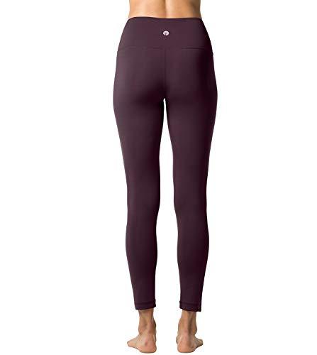 Poches Sport Taille Large 16 Pantalon De Gaine Avec Bordeaux Double Fitness ceinture Legging L01 Gym Épaisseur Femme Lapasa Pilates Haute Yoga xwICP6YqpB