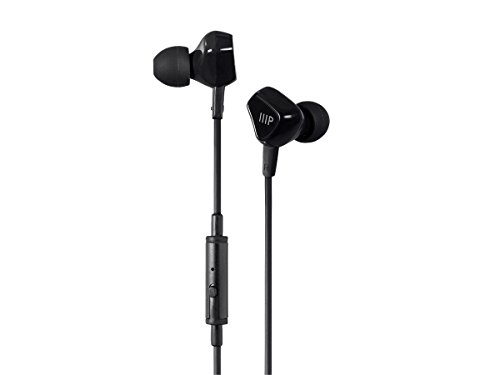 Monoprice Earbuds Headphones 1 button Control