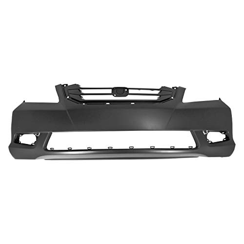 MBI AUTO - Painted to Match, Front Bumper Cover Replacement Fascia for 2008 2009 2010 Honda Odyssey Van 08-10, HO1000257