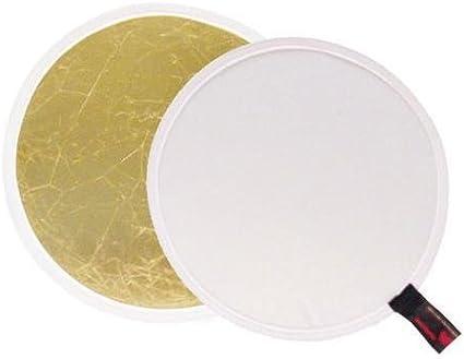 Gold Photoflex Litedisc 32 Circular Collapsable Disc Reflector Silver